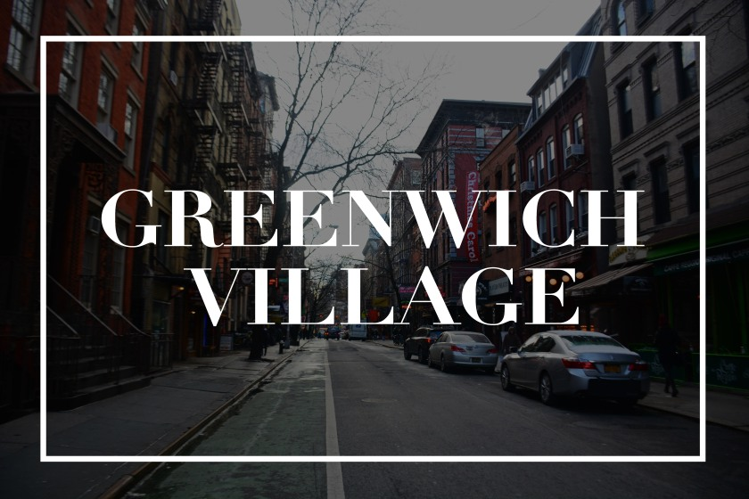 100 Love Letter To Greenwich Village